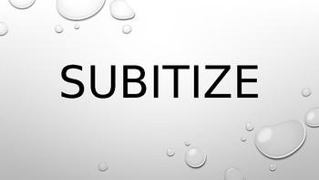 Subitize to 5