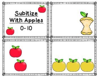 Subitizing: Apples