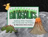 Subitizing: Dinosaurs