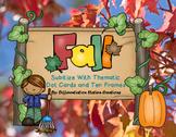 Subitizing: Fall