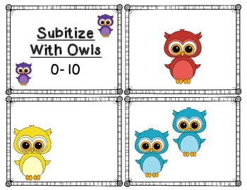 Subitizing: Owls