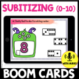 Subitizing 0 - 10 BOOM CARDS