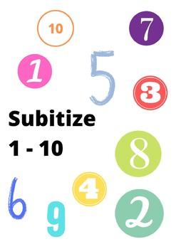 Subitizing 1 - 10