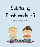 Subitizing 1-5 Flashcards