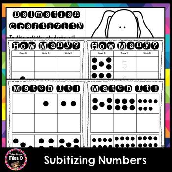 Subitizing Numbers