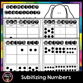Subitizing Numbers