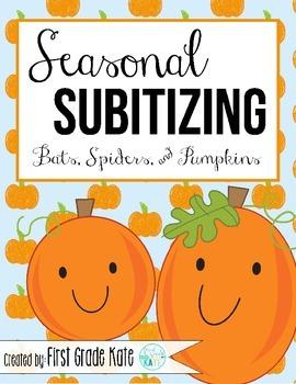 Subitizing for October