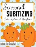 Number Sense: Subitizing for October