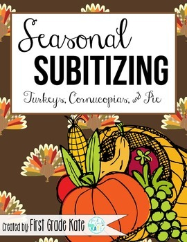 Subitizing for November