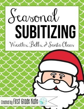 Subitizing for December