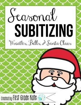 Subitizing for December