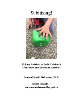 Subitizing! 25 Easy Activities to Build Confidence and Interest in Numbers