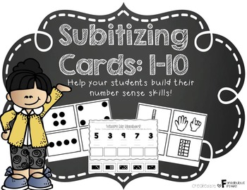 Subitizing Activities & Cards