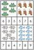 Subitizing Animal to 10 - Peg Puzzles