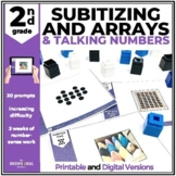 Subitizing & Arrays: 2nd Grade Talking Numbers Prompts