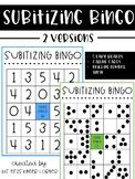 Subitizing Bingo