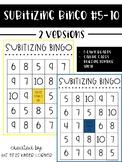 Subitizing Bingo #5-10