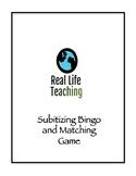 Subitizing Bingo Math Station