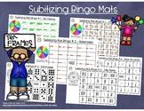Subitizing Bingo Mats