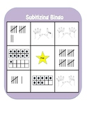 Subitizing Bingo - Numbers 1-20