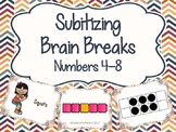 Subitizing Brain Breaks