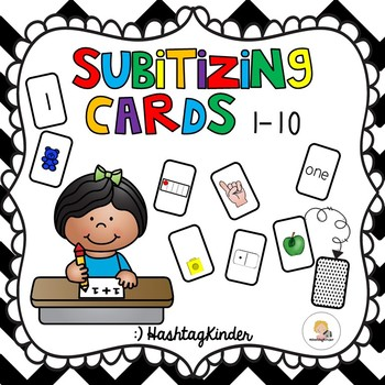 Subitizing Cards 1-10