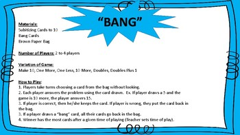 Subitizing Card Games