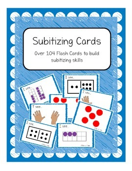 Number Sense: Subitizing Cards