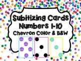 Subitizing Cards - Number Sense Cards