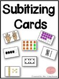 Subitizing Cards Pack!