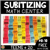 Subitizing Cards and Posters Numbers 11-20