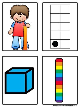 Subitizing Cards for Teaching Numbers 1 - 20