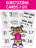 Subitizing Cards to 20