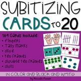 Subitizing Cards to 20~Build Number Sense