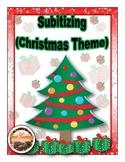 Subitizing (Christmas Theme) Math Activity