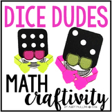 Subitizing Dice Math Craft