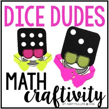 Subitizing Dice Math Craft