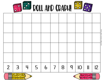 Subitizing Dice Roll and Graph