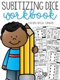 Subitizing Dice Workbook