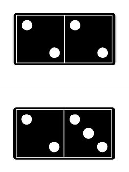 Subitizing Domino Cards