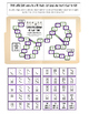 Subitizing  Domino Pattern Recognition File Folder Math Game
