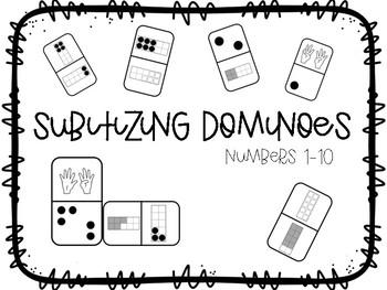 Subitizing Dominoes {Freebie}