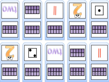 Subitizing Dominos
