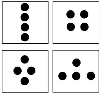 subitizing dot cards 1 10 by lovelyleopard teachers pay. Black Bedroom Furniture Sets. Home Design Ideas