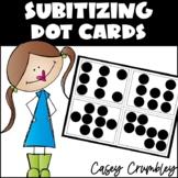 Subitizing Dot Cards! 36 Cards Number Talks Editable