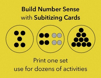 Subitizing Dot Cards | Early Math Skills for Pre-K and Kindergarten