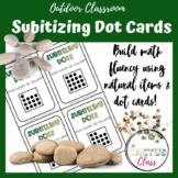 Subitizing Dot Cards | Outdoor Math Activities