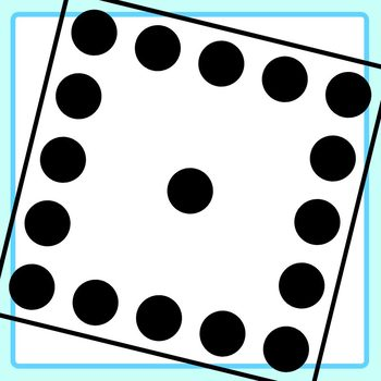 Subitizing Dots to 25 Clip Art Set for Commercial Use
