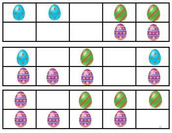 Subitizing Easter 10 Frame And Flashcards