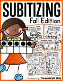 Subitizing (Number Sense) Fall Edition